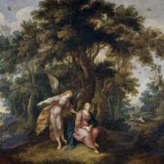 Agar y el ángel