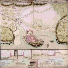 Plan de St. Sebastien
