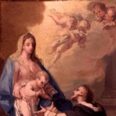 Aparición de la Virgen a Santo Domingo de Guzmán