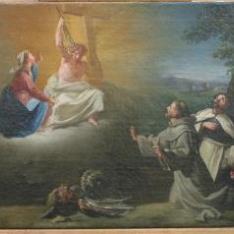Visión de Santo Domingo de Guzmán