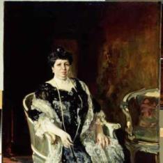 Retrato de Dña. María de Allende