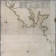 Plano que manifiesta la costa desde el Puerto de Cedeira hasta el Cavo del Piero