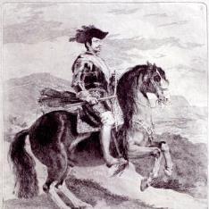 Retrato ecuestre de Felipe IV