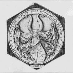 SEBOLDT BEHAM VON NUREMBERG...[escudo