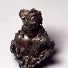 Aplique romano con la representación de Pomona