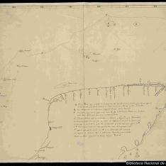 Carta de la península del Yucatán