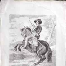 Retrato ecuestre de Don Gaspar de Guzmán, Conde Duque de Olivares