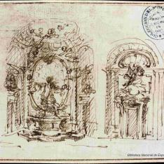 Proyecto para la Capilla Antamoro de San Girolamo della Carità