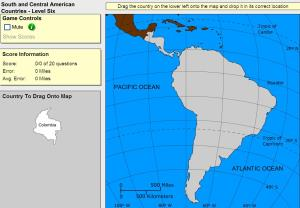 Countries of South and Central America. Expert plus. Sheppard Software