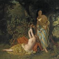 Las hijas del Cid, del romance XLIV del Tesoro de Romanceros
