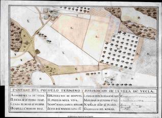 Partido del Pozuelo Termino y Jurisdicion de la Villa de Yecla