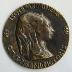 Medalla de Segismundo Pandolfo Malatesta e Isotta degli Atti