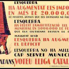 Ciutadans ¡Voteu Lliga Catalana!