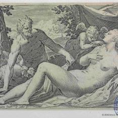 Sátiro y Venus