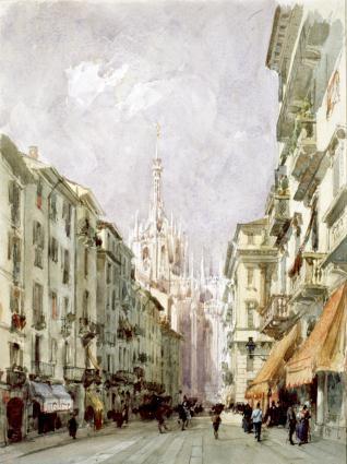 El corso de San Francisco, Milán