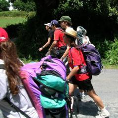 Cinco mochileros, rumbo a Santiago