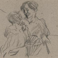 Clotilde y Elena
