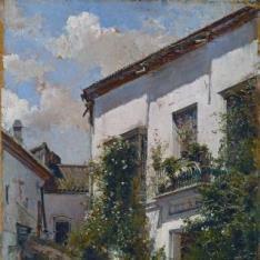 El patio de San Miguel, en Sevilla