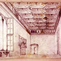 Salón principal de la casa de Mossen Sorell, Valencia