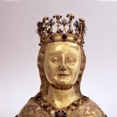Relicario de busto femenino