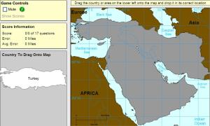 Countries of Middle East. Expert plus. Sheppard Software