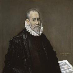 Retrato de un médico (¿Rodrigo de la Fuente?)