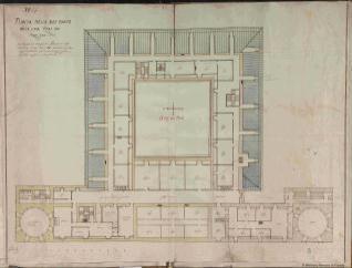 PLANTA DELOS DES BANES DELA CASA REAL DE ARANJUEZ, 1636