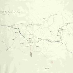 Linea fronteriza desde las Yllas hasta Planaver