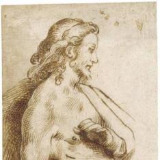 """""""Figura de Cristo para una composición del """"""""Noli me tangere"""""""""""""""