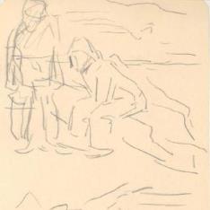 Pescadores y mujer de Lequitio