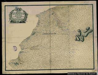 Mapa de la Costa Desde Cavo de Sn. Lorenso, hasta el Rio de las Esmeraldas