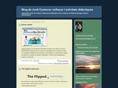 Blog de Jordi Carmona: enllaços i activitats didàctiques