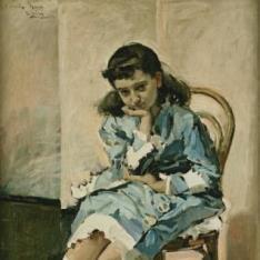 María Guerrero, niña