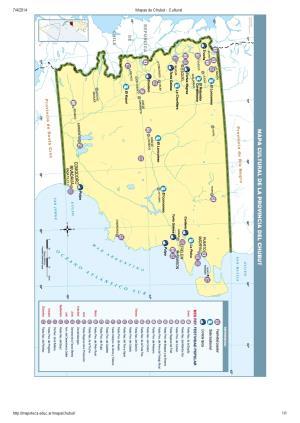 Mapa cultural del Chubut. Mapoteca de Educ.ar