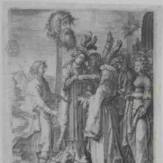 David con la cabeza de Goliat