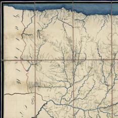 Mapa itinerario militar de la Capitania General de Castilla la Vieja