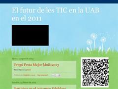 El futur de les TIC en la UAB en el 2011