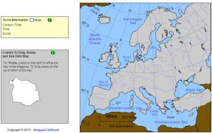 Countries of Europe. Cartographer. Sheppard Software