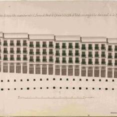 Proyectos de reconstrucción de la Plaza Mayor y del Portal de Cofreros de Madrid tras el incendio de Agosto de 1791.