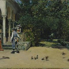 El Pabellón de Carlos V en los jardines del Alcázar de Sevilla