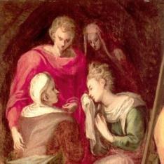 San Juan, la Virgen y Santas mujeres