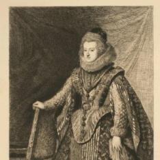 La infanta María, reina de Hungría