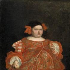 """""""Eugenia Martínez Vallejo, """"""""la Monstrua"""""""", vestida"""""""