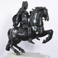 Fernando de Toscana, ecuestre