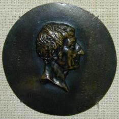 Medallón con el retrato de Louis Marie de La Révellière-Lépeaux