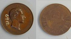Medalla conmemorativa de la Exposición de Guadalajara