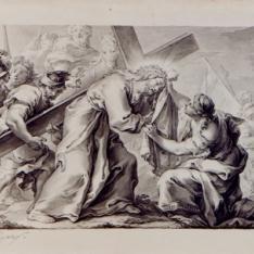 Cristo y la Verónica