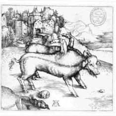 El cerdo monstruoso