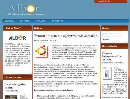 Albor Recursos educativos TIC y NEE