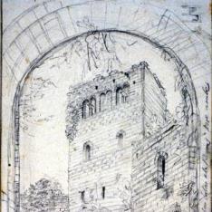 Torre del castillo de Loarre, Huesca
